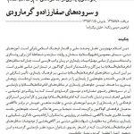 جلوه های پایداری مناظره های امام رضا